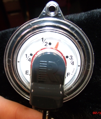Full face sweep dial for SR gauges, 6500 and 8600 series